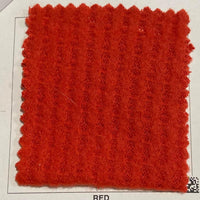 Red Brushed Waffle Knit - TNT OFF THE RACK