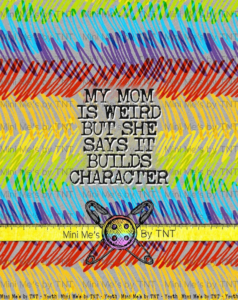 WEIRDO MY MOM PANEL - RETAIL
