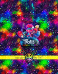 TROLLS RAINBOW GALAXY MOVIE PANEL - PERPETUAL PREORDER