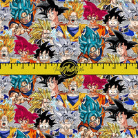 DRAGON BALL GOKU COLLAGE - PERPETUAL PREORDER