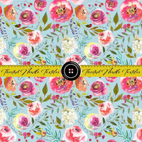 FUCK CANCER BLUE FLORAL MAIN - PERPETUAL PREORDER
