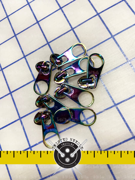 Rainbow Zipper Slide ONLY - Hardware