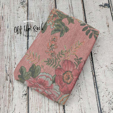 PINK FLORAL FRENCH TERRY - TNT OFF THE RACK