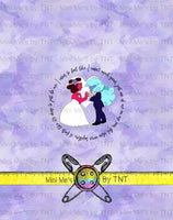 CRYSTAL VERSE WEDDING PANEL - PERPETUAL PREORDER