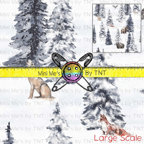 WINTER FOREST LARGE SCALE ANIMALS - PERPETUAL PREORDER