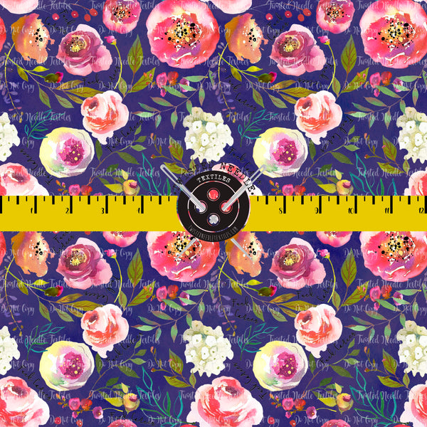 Fuck Cancer Floral Purple - Small Batch Preorder