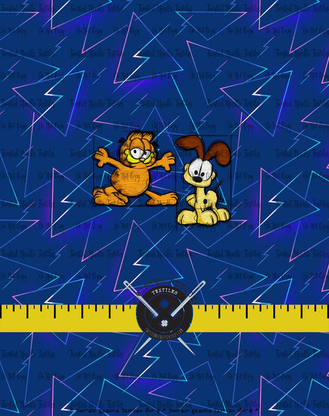 80S TOONS GARFIELD AND ODIE PANEL - PERPETUAL PREORDER