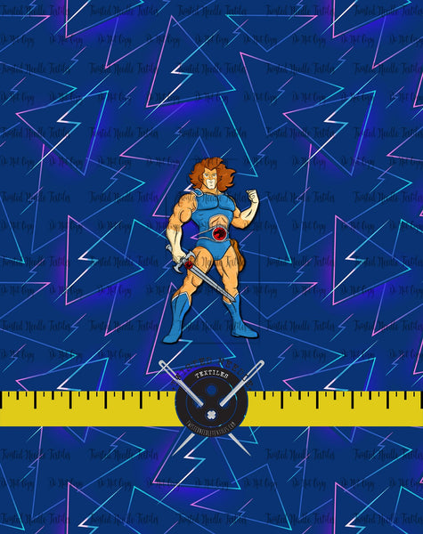 80S TOONS LION-O PANEL - PERPETUAL PREORDER
