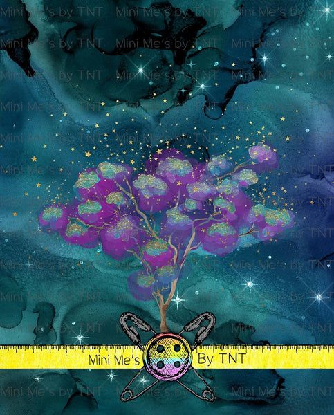 BELIEVE IN FAERIES TREE BLANKET PANEL - PERPETUAL PREORDER