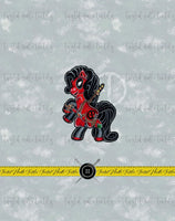 COSPLAY PONIES DEADPOOL PANEL - PERPETUAL PREORDER