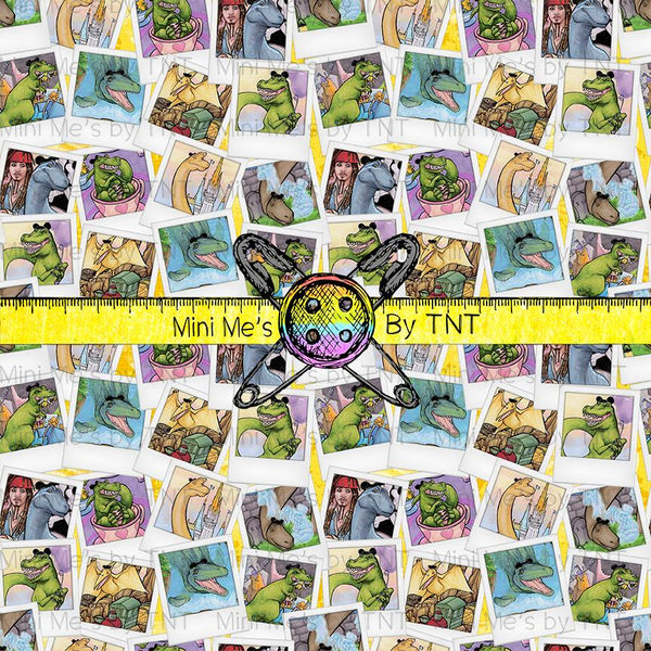 DINOS AT DISNEY YELLOW MINI - PERPETUAL PREORDER