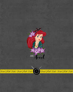 INKED PRINCESS ARIEL PANEL - TNT CUSTOM PRINTING PREORDER
