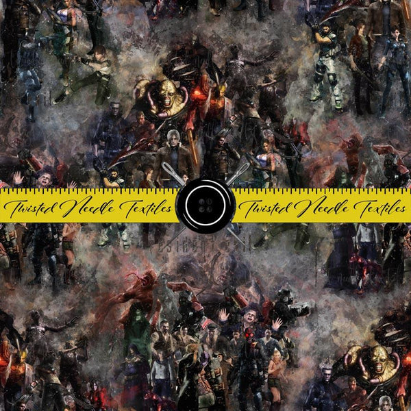 RESIDENT EVIL GAME COLLAGE MAIN  - PERPETUAL PREORDER