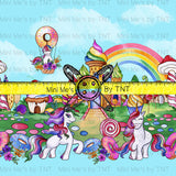 CANDY LAND COLLAGE STRIPES - PERPETUAL PREORDER
