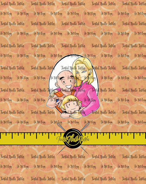 DRAGON BALL KRILLIN FAM PANEL - PERPETUAL PREORDER