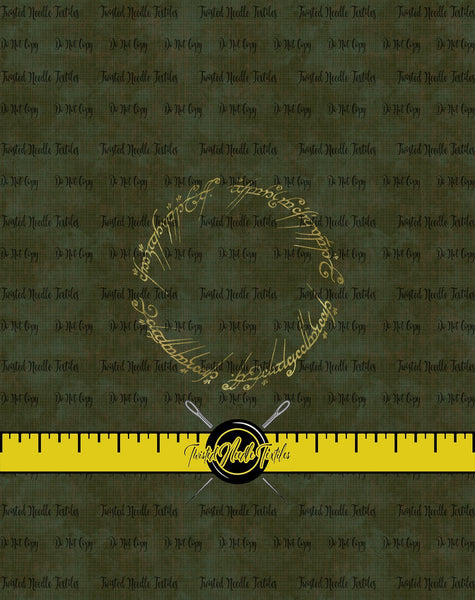 LOTR ONE RING PANEL - RETAIL