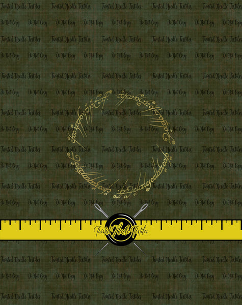 LOTR ONE RING PANEL - PERPETUAL PREORDER