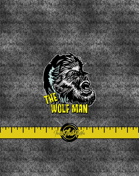 MONSTER MASH WOLF MAN PANEL - PERPETUAL PREORDER