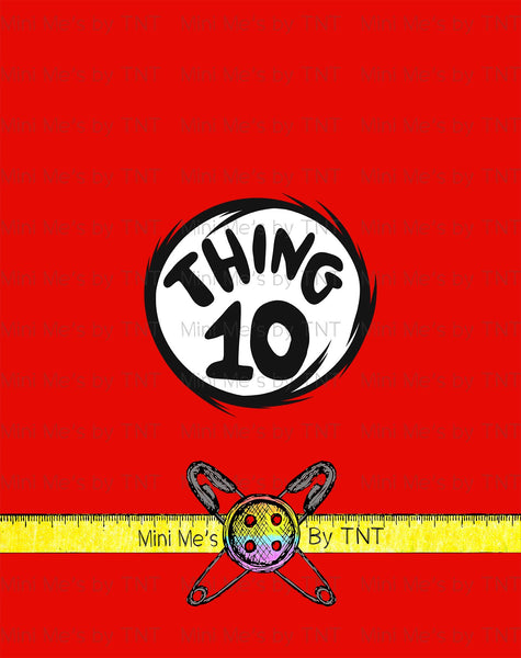 STORYBOOK THING 10 PANEL - PERPETUAL PREORDER
