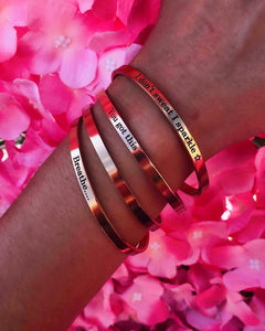 Mantra Bracelet collection launch!