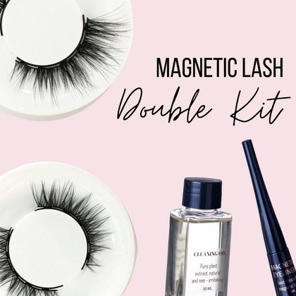 NEW Magnetic Lash Double Kit