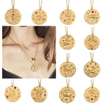 Artilady 12 Zodiac Necklace Pendant necklace Gold Constellation Necklace for Women Jewelry Party Gift