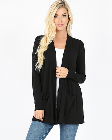 Staple Black Cardigan