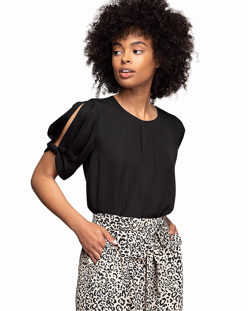 Bow Sleeve Blouse, Tops - Trilogy Boutique