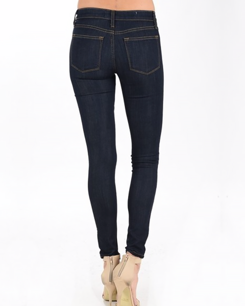 Judy Blue Dark Wash Skinnies, Bottoms - Trilogy Boutique
