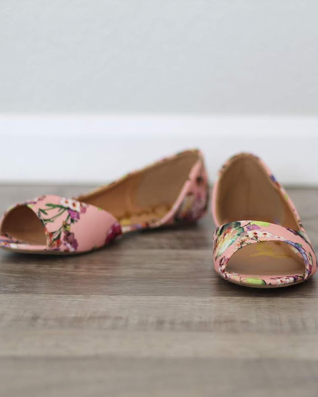 Floral Flats, Shoes - Trilogy Boutique