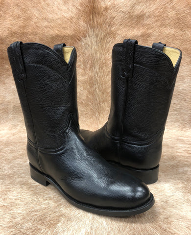 Black Deer Hide Roper