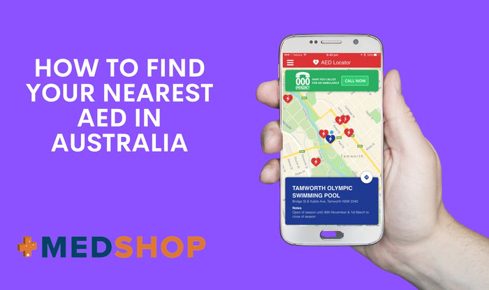 How to Find Your Nearest AED in Australia