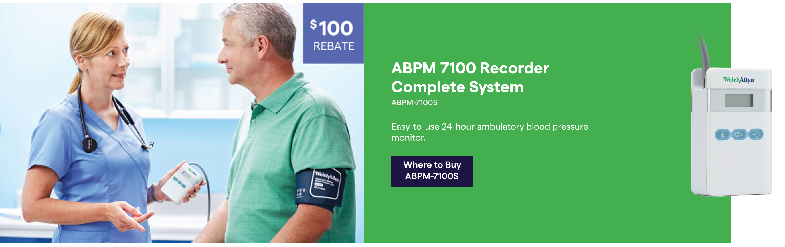 ABPM 24 hour Blood Pressure Monitor