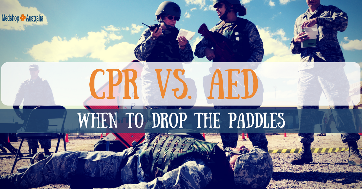 CPR vs AED; When to Drop the Paddles (1)