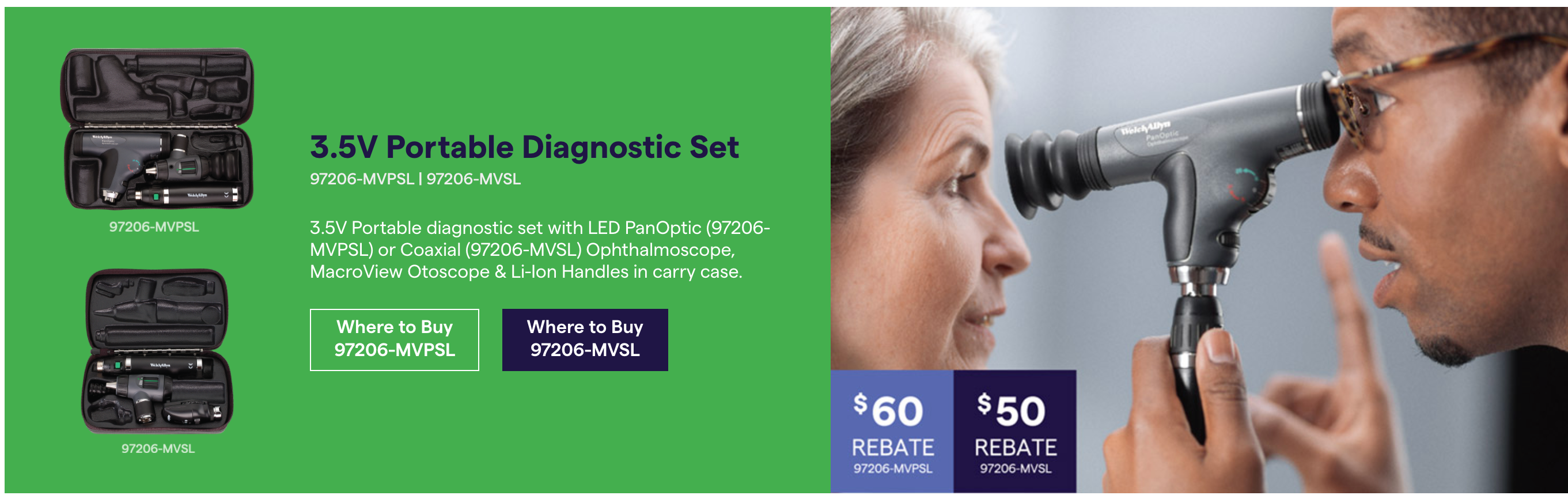 Otoscope and Ophthalmoscope Diagnostic Set