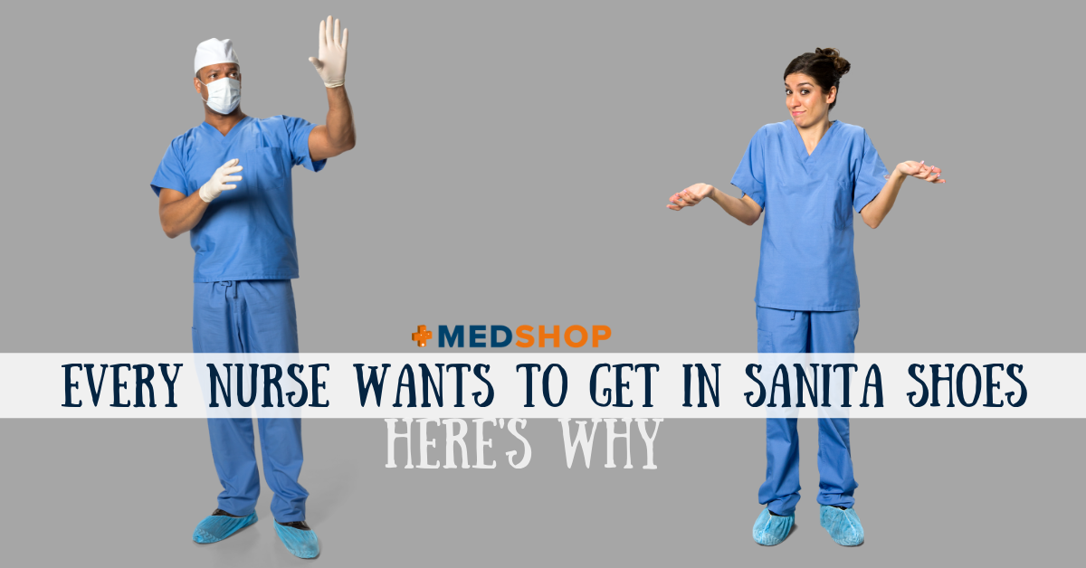 Every Nurse Wants to Get in Sanita Shoes; Here's Why