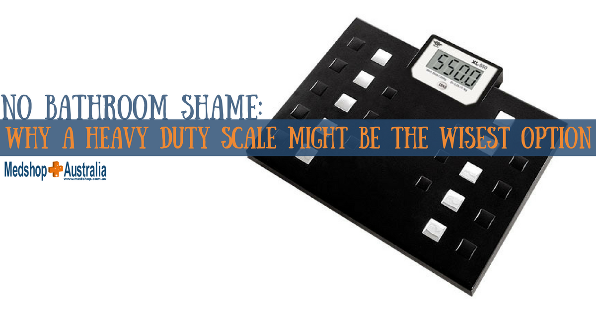 No Bathroom Shame_ Why a Heavy Duty Scale Might be the Wisest Option