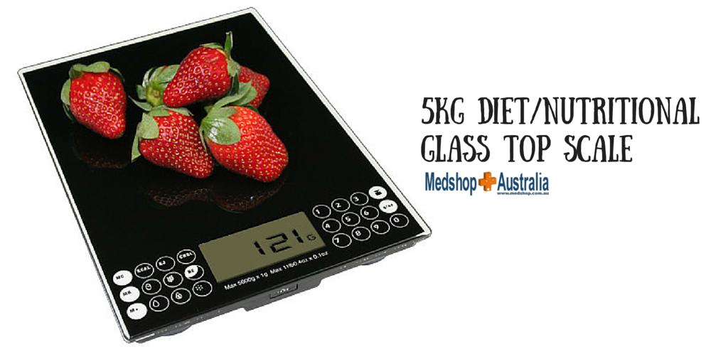 5kg Diet-Nutritional Glass top Scale