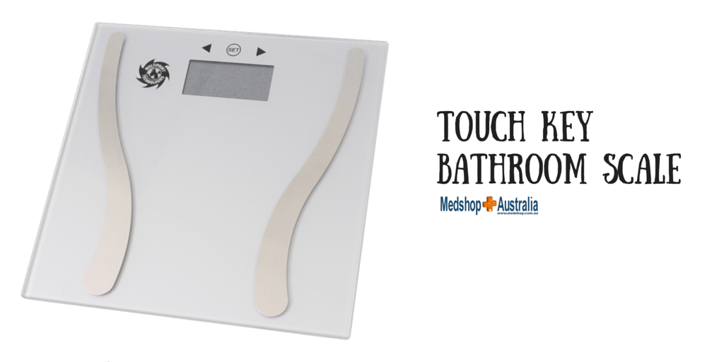 Touch Key Bathroom Scale