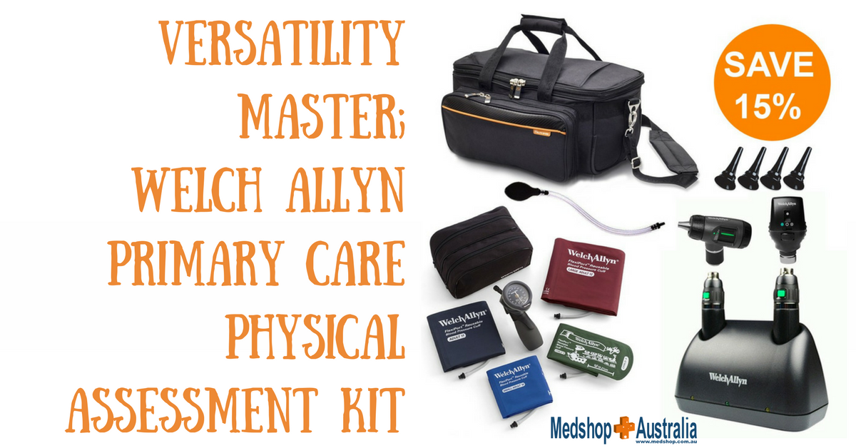 Versatility Master; Welch Allyn Primary Care Physical Assessment Kit.png