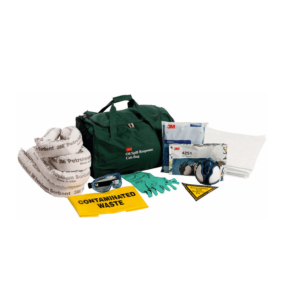 3M Healthcare Spill Kits 25L 3M Chemical Spill Kit Cabin Bag