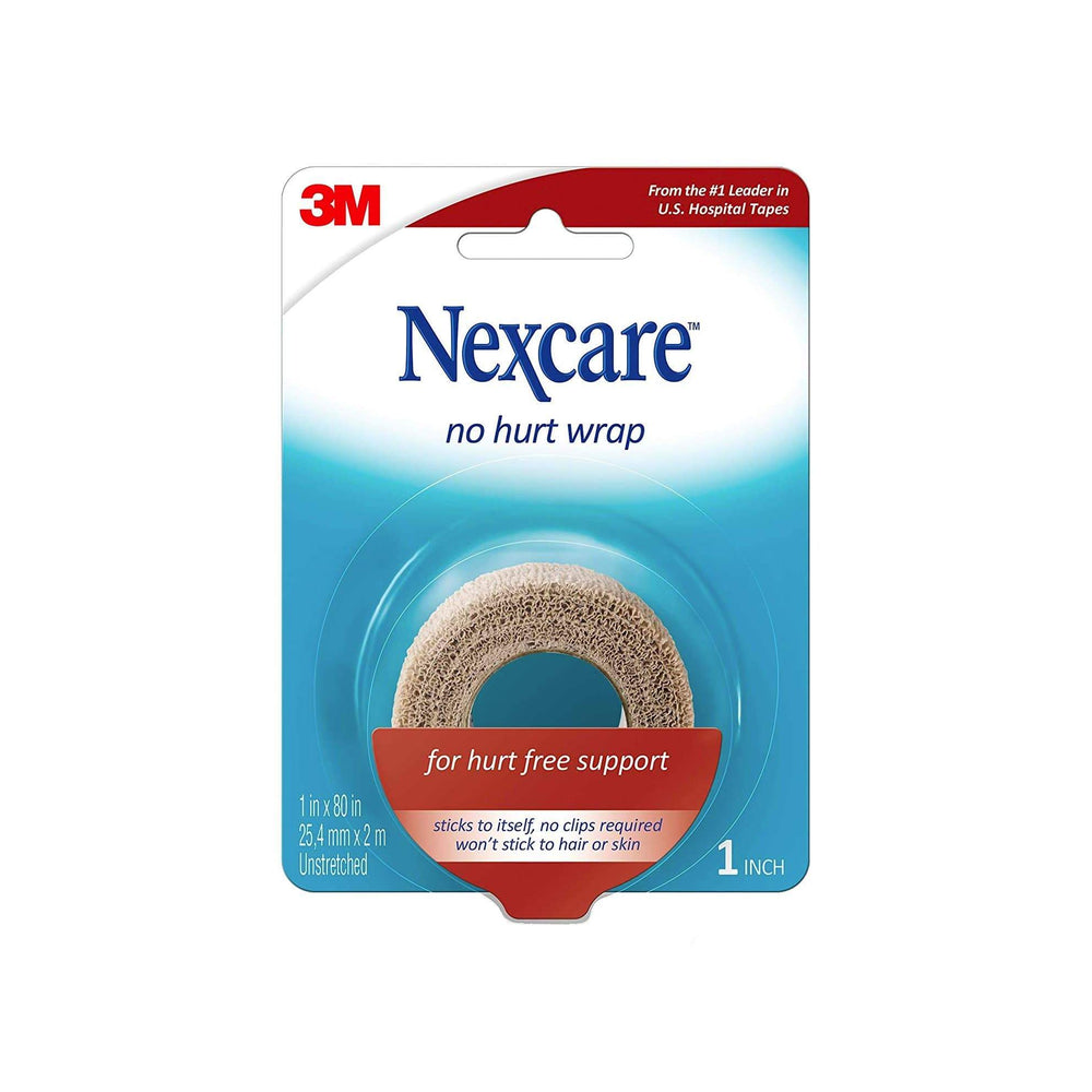 3M Healthcare First Aid Tapes Tan / 25mm x 2m unstretched 3M Nexcare No Hurt Wrap
