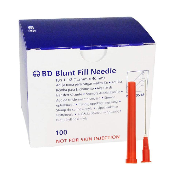 BD Medical Blunt Drawing Needles BD Blunt Fill and Blunt Filter Needles