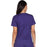 Cherokee Scrubs Top Cherokee Core Stretch WW630 Scrubs Top Women's V-Neck Grape