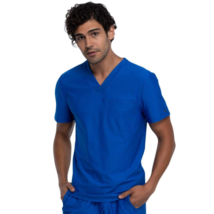 Cherokee Top Cherokee Form CK885 Scrubs Top Men Royal