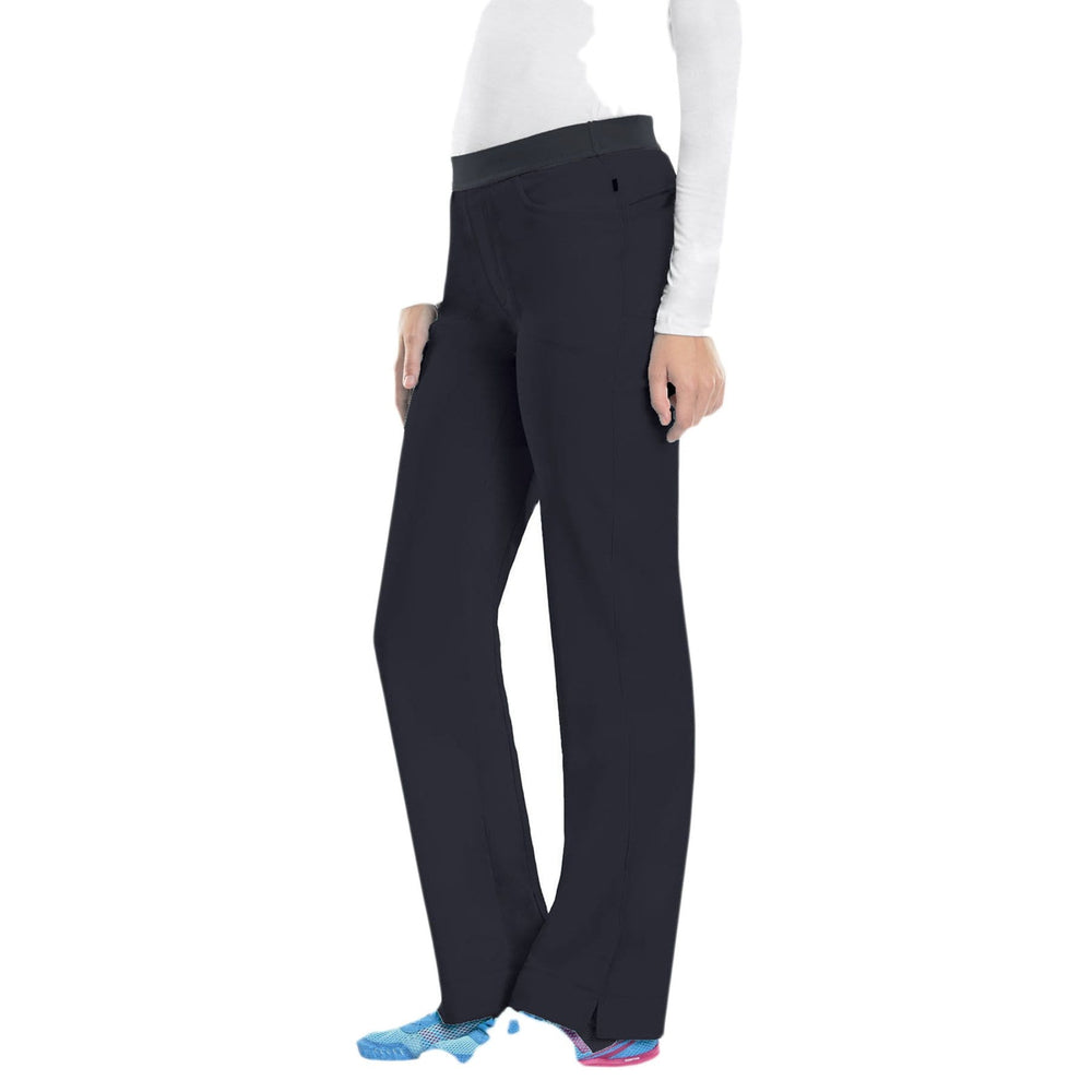 Cherokee Scrubs Pants Cherokee Infinity 1124A Scrubs Pants Women's Low Rise Slim Pull-On Pewter