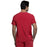 Cherokee Scrubs Top Cherokee Infinity CK900A Scrubs Top Men's V-Neck Red