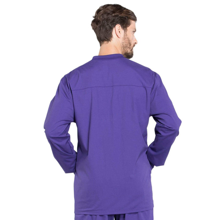Cherokee Scrubs Jacket Cherokee Workwear Professionals WW360 Scrubs Jacket Men's Warm-up Grape