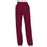 Cherokee Scrubs Pants Cherokee Workwear Revolution WW110 Scrubs Pants Women's Mid Rise Straight Leg Pull-on Wine