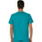 Cherokee Scrubs Top Cherokee Workwear Revolution WW690 Scrubs Top Men's V-Neck Teal Blue